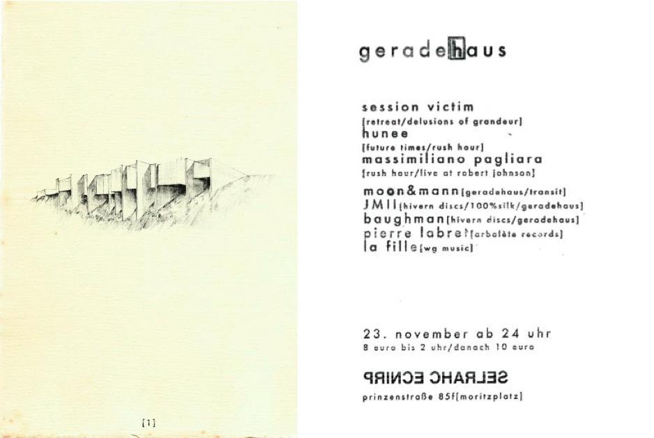 Geradehaus 1