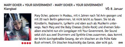 MaryOcher-YourGovernment-TrendVeranstaltungsmagazin